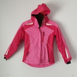 Obermeyer juniors pink ski size 10